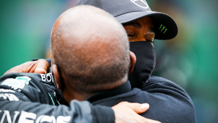 All I ever wanted was for Lewis to have a decent job, says Hamilton's dad Anthony