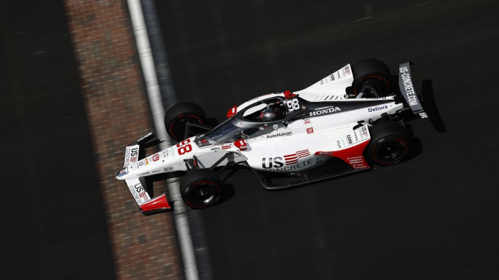 Marco Andretti scores pole for the Indy 500