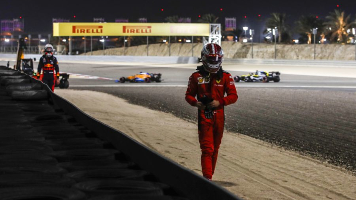 """Leclerc takes blame for first lap crash as Verstappen brands him """"reckless"""""""