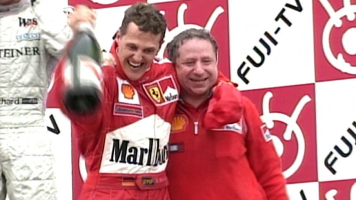 Schumacher ends Ferrari drought with Suzuka win - F1 On This Day