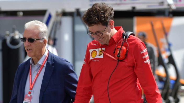 """Binotto: """"Topsnelheid Ferrari niet alleen te danken aan motor"""""""