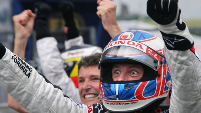 """Button cost F1 wins by BAR-Honda """"stage fright"""""""