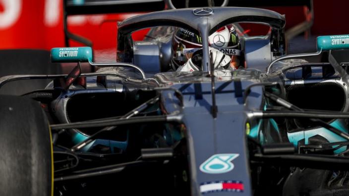Hamilton souhaite changer l'affichage de son volant