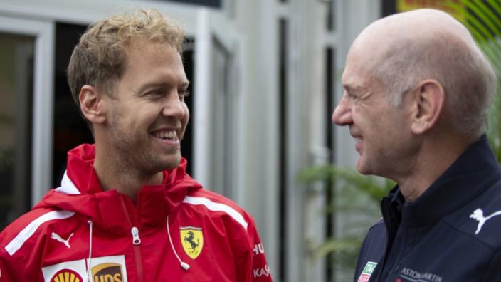 'Vettel spending more time with Red Bull' while Ferrari hopes fade