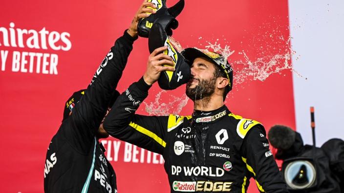 Ricciardo not running scared of future Hamilton link-up