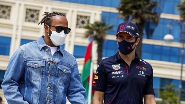 Mercedes reageert via Twitter op dramatische Grand Prix van Azerbeidzjan