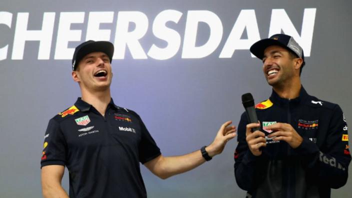 Ricciardo wonders: 'What if Max is world champion?'