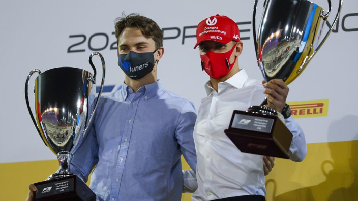 Leclerc and Russell inspire F3 champion Piastri