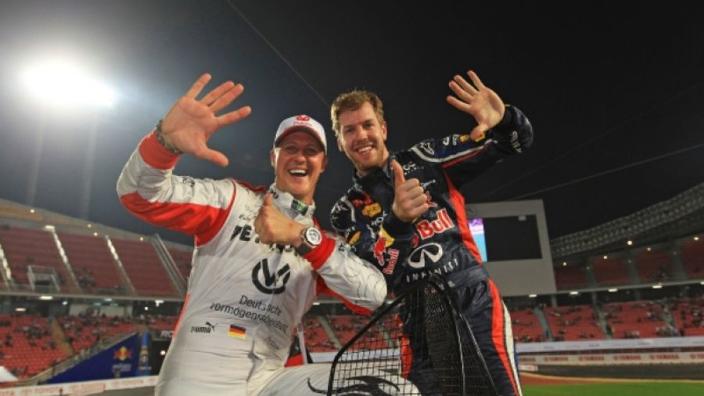 Vettel longs for Schumacher advice