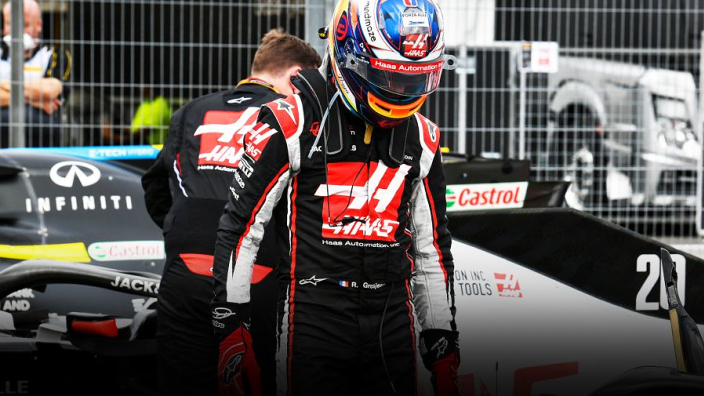 """""""Fed up"""" Grosjean hoping new Haas parts will avoid another tirade"""