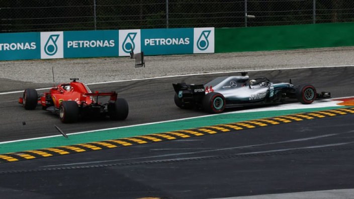 'Whole side' of car was missing after Hamilton crash - Vettel