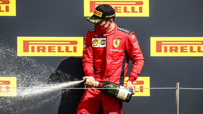 "Ferrari claim it is ""still a long way"" from F1 podium"