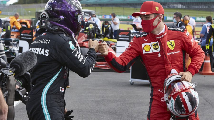 Hamilton respected but not feared by Ferrari duo