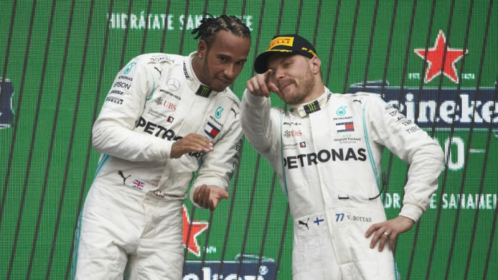 Rosberg advises Bottas on how to beat Hamilton
