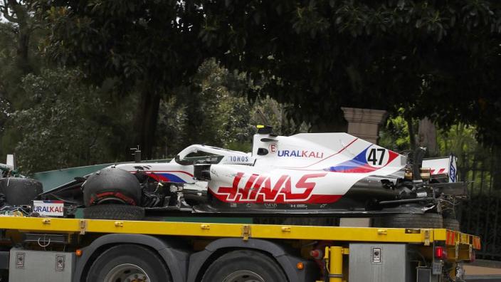 Steiner onthult: 'Kosten crash Schumacher kunnen oplopen tot een half miljoen'