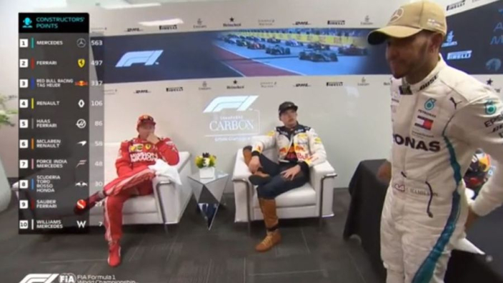 VIDEO: Raikkonen trolling Hamilton?