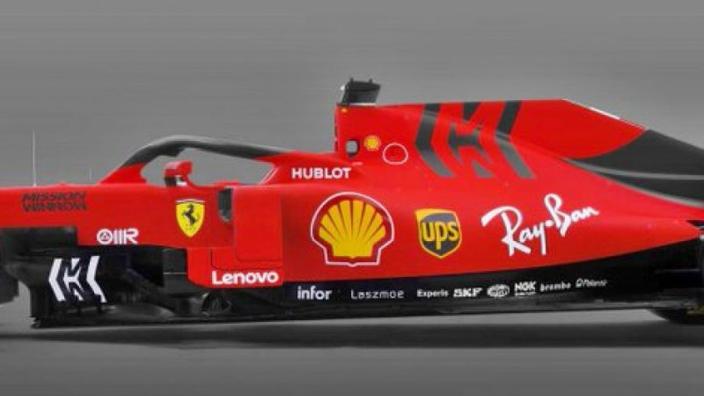 Ferrari SF90: Images of new F1 car leaked