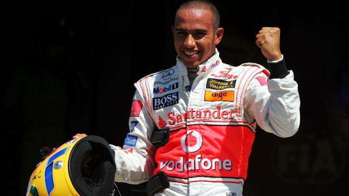 Hamilton - top-10 poles of his F1 career