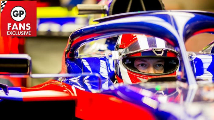 Kvyat admits to anxiety before F1 return