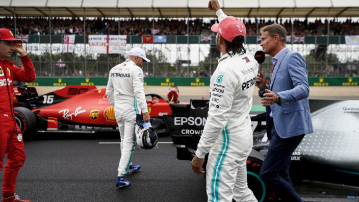 Hamilton dismisses importance of safety car in beating Bottas at Silverstone