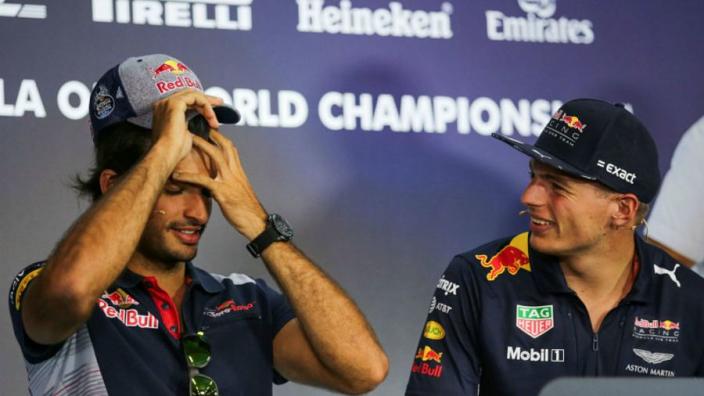Sainz: Verstappen didn't block Red Bull move