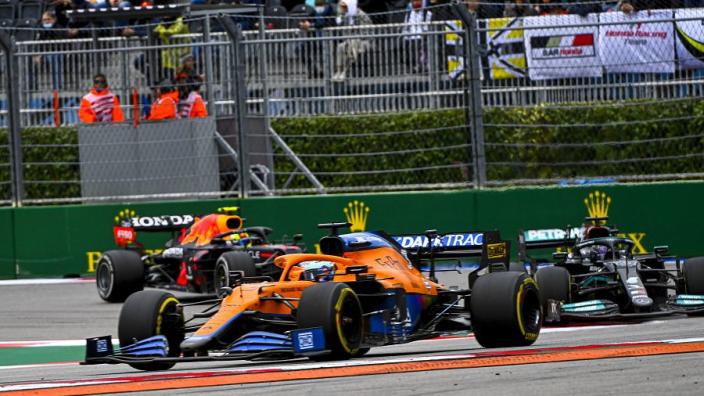 "McLaren can take encouragement despite Norris ""disaster"" - Ricciardo"