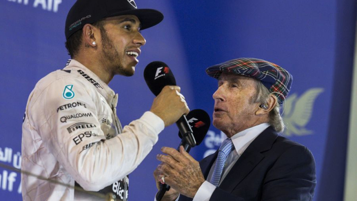 Hamilton hits back at 'bee in his bonnet' Sir Jackie Stewart