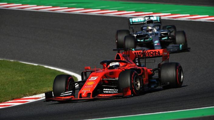 Hamilton v Vettel helps Mercedes identify key weakness to Ferrari