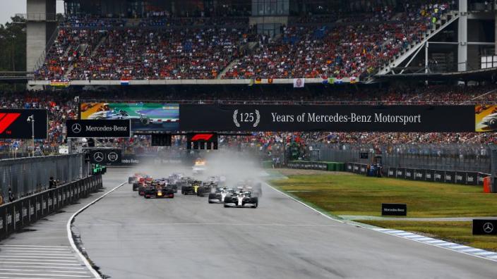 Vettel roept op tot verbetering van F1: 'Kunnen niet alleen aan op natte races'