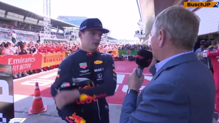 Verstappen on Leclerc incident: If this isn't allowed, what's the point in Formula 1?