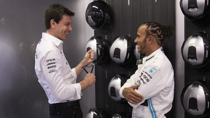 """Hamilton: Wolff Mercedes future """"not determining whether or not I stay"""""""