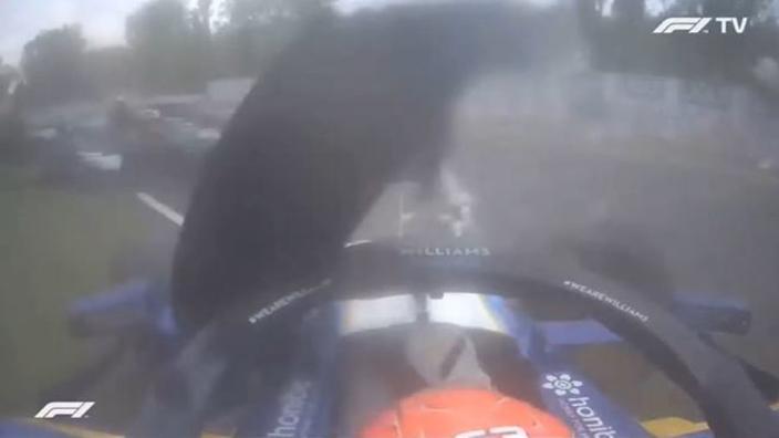 VIDEO: Halo laat opnieuw waarde zien bij Bottas/Russell-crash