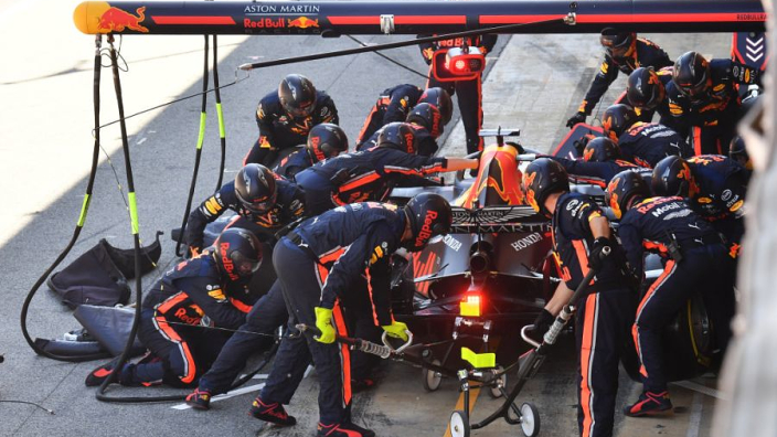Red Bull Racing wint DHL Fastest Pit Stop Award 2019: 'Supertrots op pitcrew'