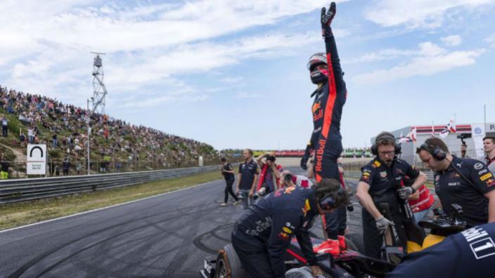Verstappen excited for Dutch GP deal