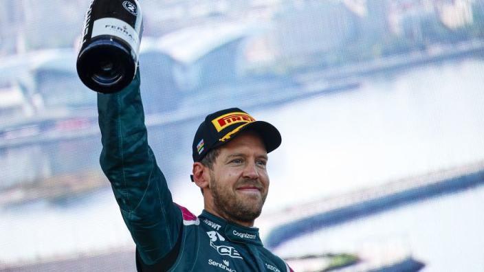 "Vettel at ""99 plus"" per cent at Aston Martin"