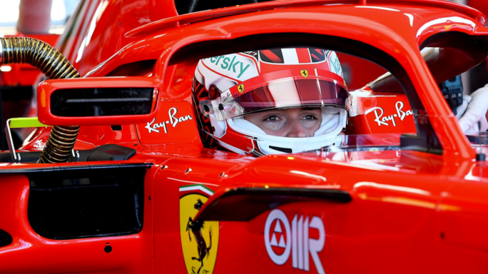 In pictures: Leclerc returns to the track in Fiorano test