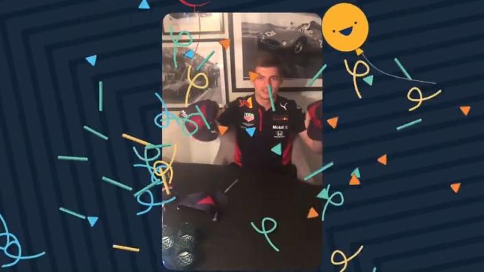 Verstappen en Albon schitteren in Red Bull Racing-challenge