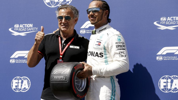 VIDEO: Hamilton's record-breaking French GP pole lap
