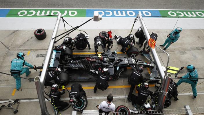 Pitstops in Imola onder de loep: Mercedes maakt einde aan dominantie Red Bull
