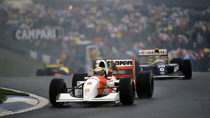 VIDEO: Senna's 'lap of the gods' at Donington