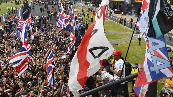 Verstappen unfazed by passionate Hamilton fanbase at Silverstone homecoming