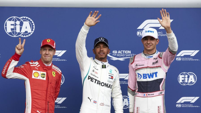 Belgian Grand Prix Starting Grid