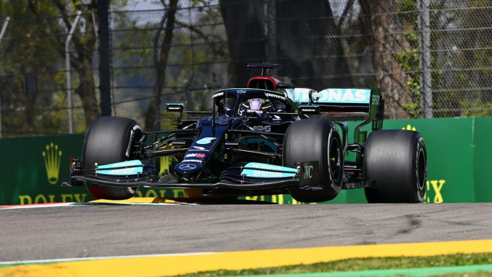 Hamilton stunned by 'unexpected' Imola pole