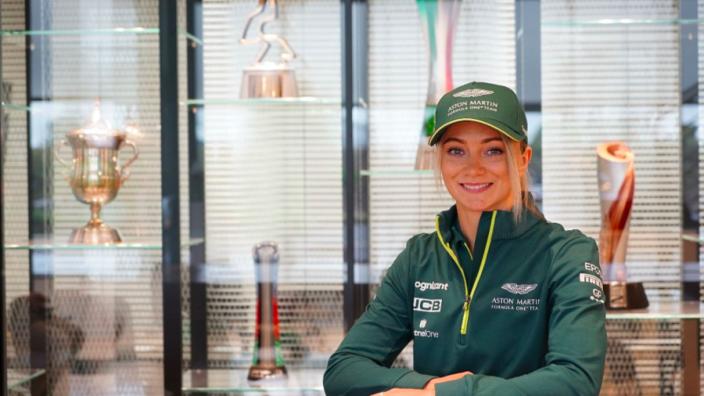 James Bond-stuntcoureur Jessica Hawkins voegt zich bij F1-team Aston Martin
