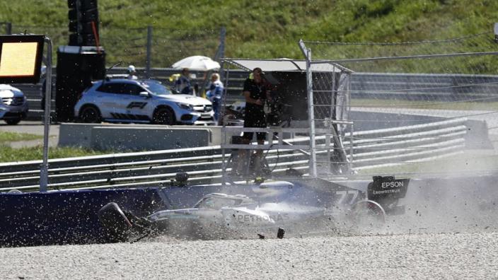 Bottas on Austria crash: That's how it should be!