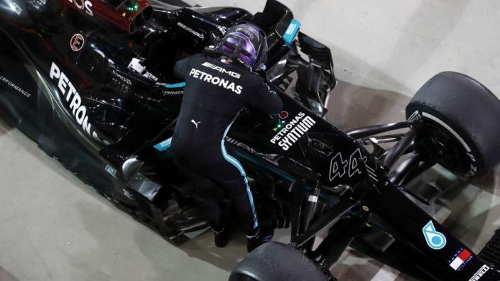 """Brundle over Mercedes: """"Ik denk dat het hele 'rake'-verhaal een beetje als afleiding dient"""""""