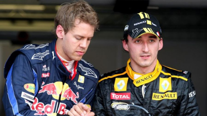 Vettel admits 'mixed feelings' over Kubica F1 return