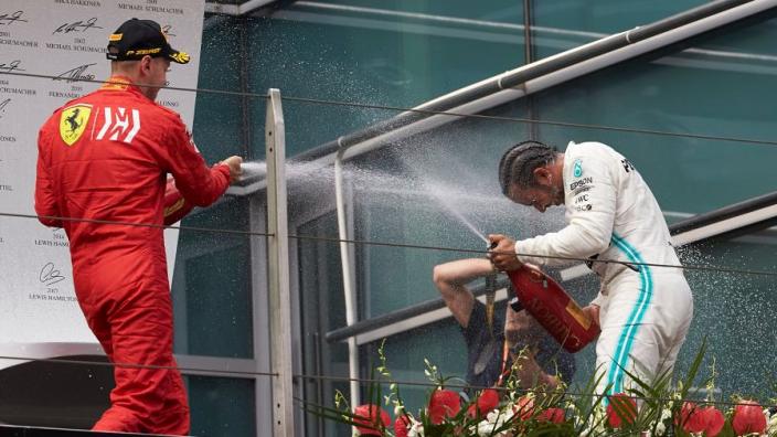 Ecclestone: Vettel Mercedes move would be 'good for Formula 1'