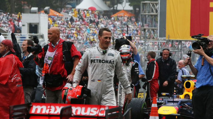 Schumacher failed at Mercedes, says driver's former manager