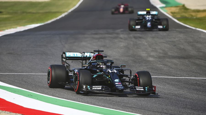 Pole number 95 for Hamilton as he again beats Mercedes team-mate Bottas, Leclerc fifth